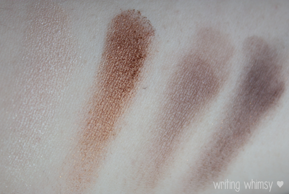 Maybelline ExpertWear Quad Chai Latte - WRITING WHIMSY