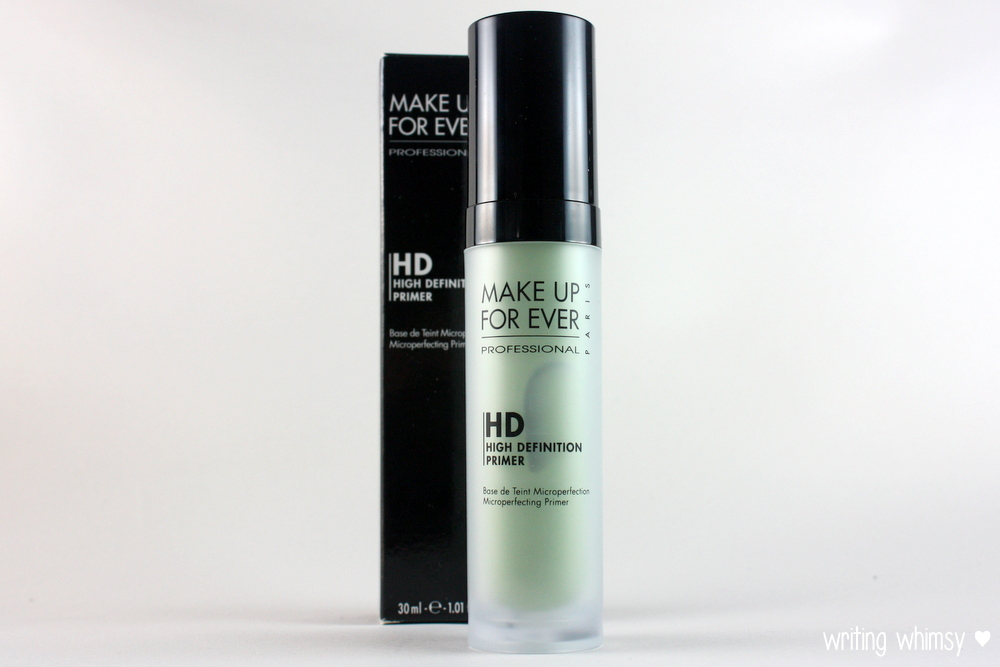 MAKE UP FOR EVER HD Microperfecting Primer in #1 Green - WRITING ...