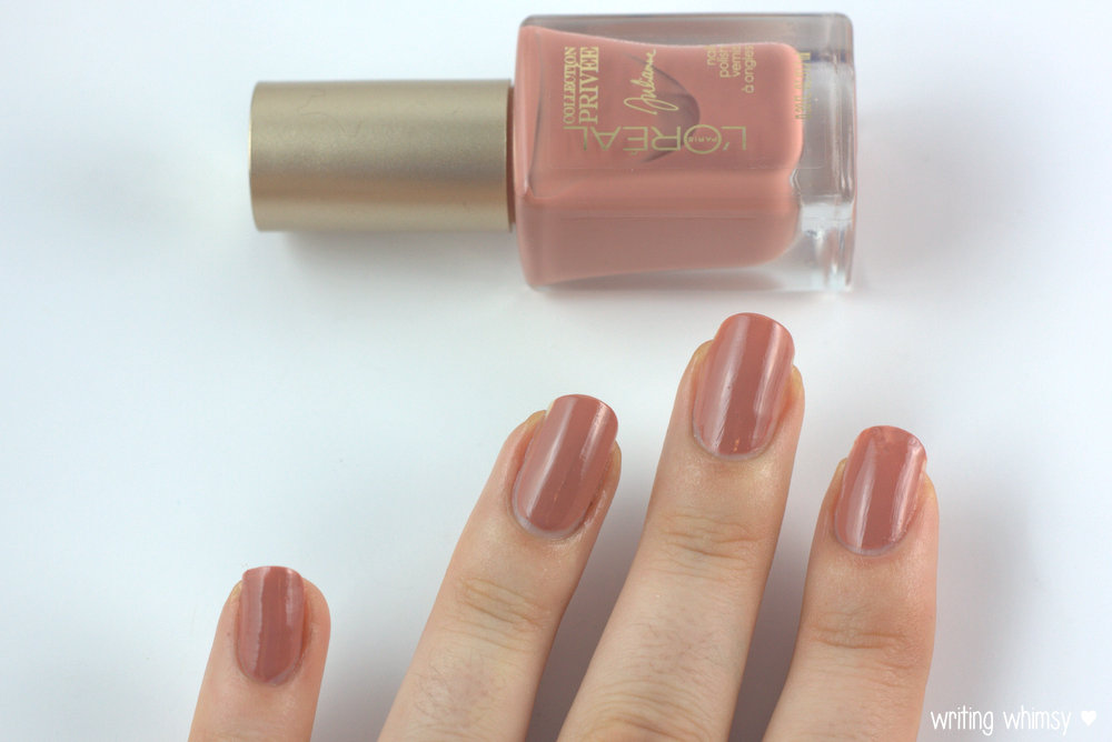 L'Oreal Collection Privee Exclusive Nudes Nail Polishes - WRITING ...