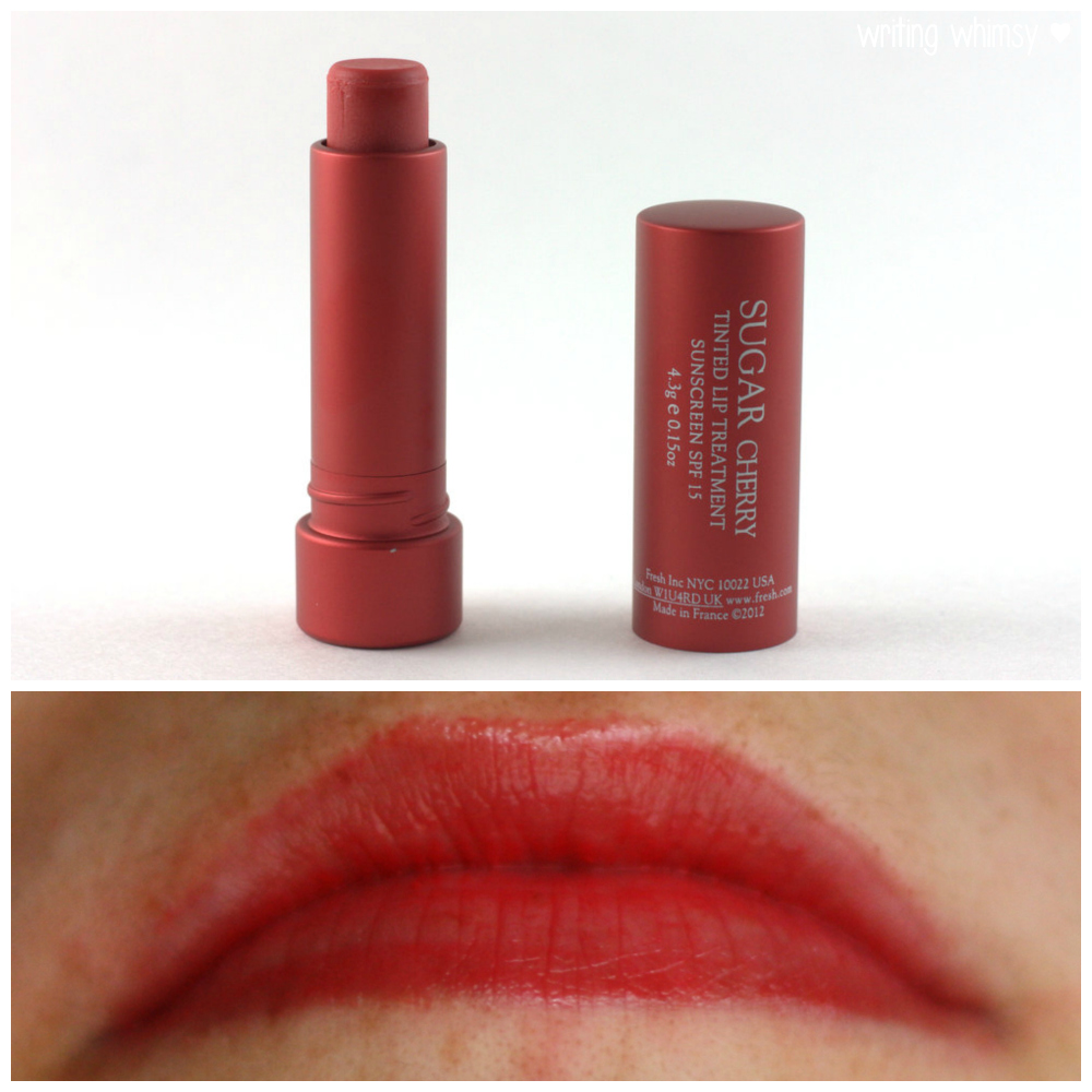 How to Build Your Courage for Crimson Lips - Makeup and ... |Sugar Lip Treatment Cherry