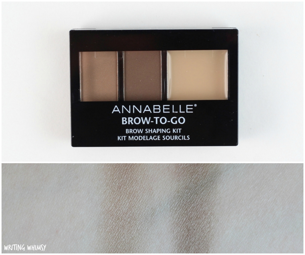 Annabelle Cosmetics Fall 2015: Brows - WRITING WHIMSY
