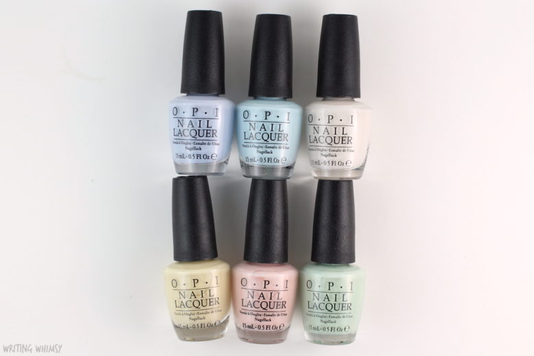 OPI Soft Shades 2016 Collection