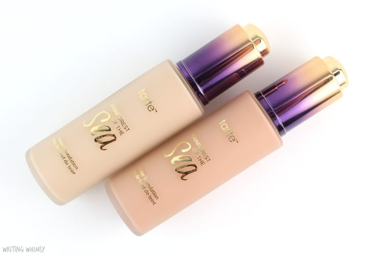 Tarte Rainforest of the Sea Water Foundation in Fair-Light Neutral Review 2