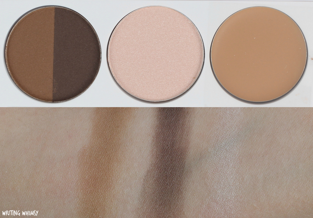 Quo Spring 2017 Quo Brow Palette Swatches