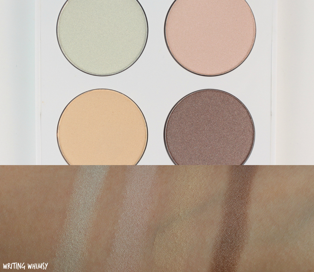 Quo Spring 2017 Quo Eye Shadow Palette in No Pressure Swatches