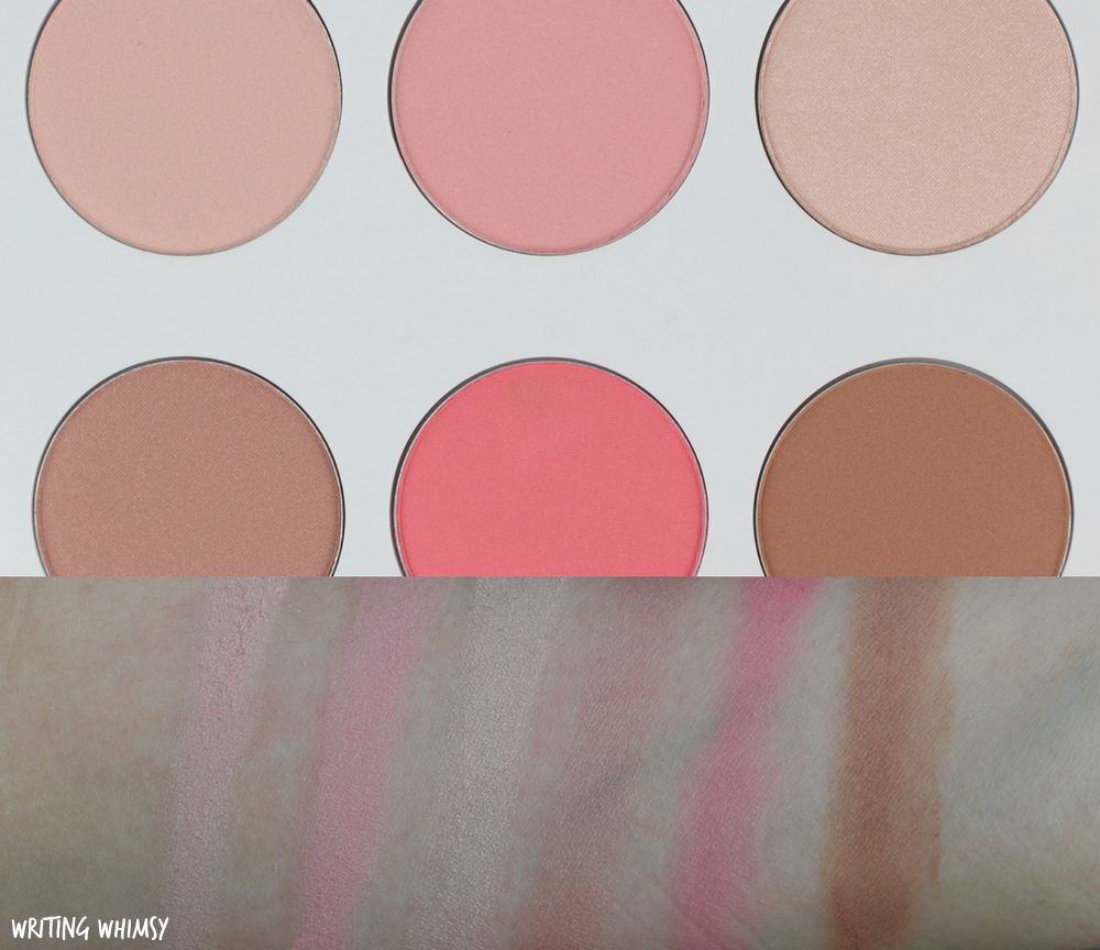 Quo Spring 2017 Quo Face Palette in Heat It Up Swatches