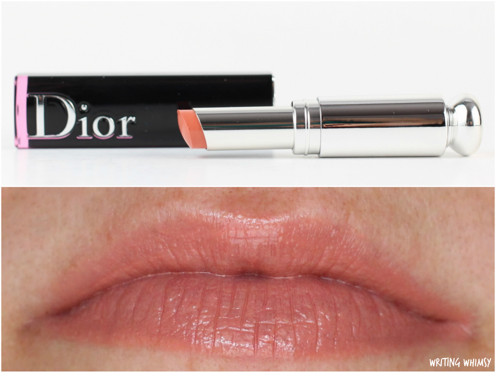 Dior Addict Lacquer Sticks in 344 Rolling Swatch