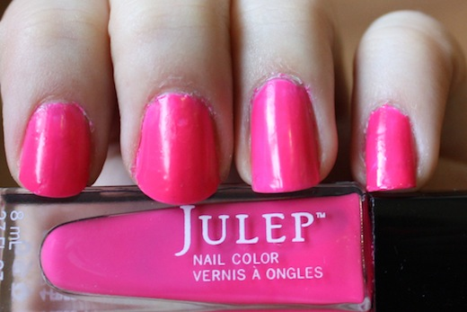 julep lauren polish swatch