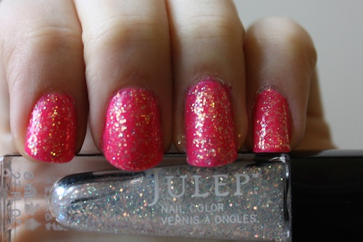 julep polish swatch camille