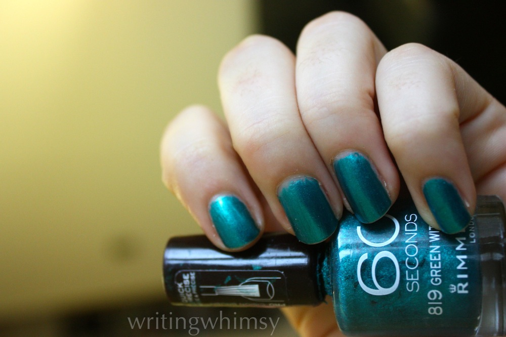 rimmel green with envy 2