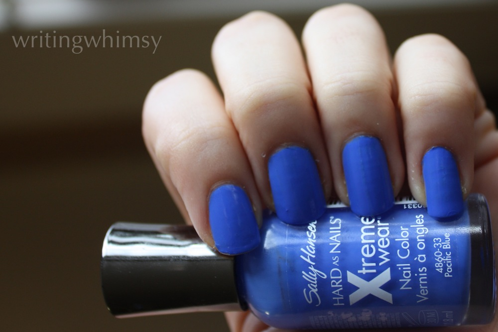 sally hansen pacific blue swatch