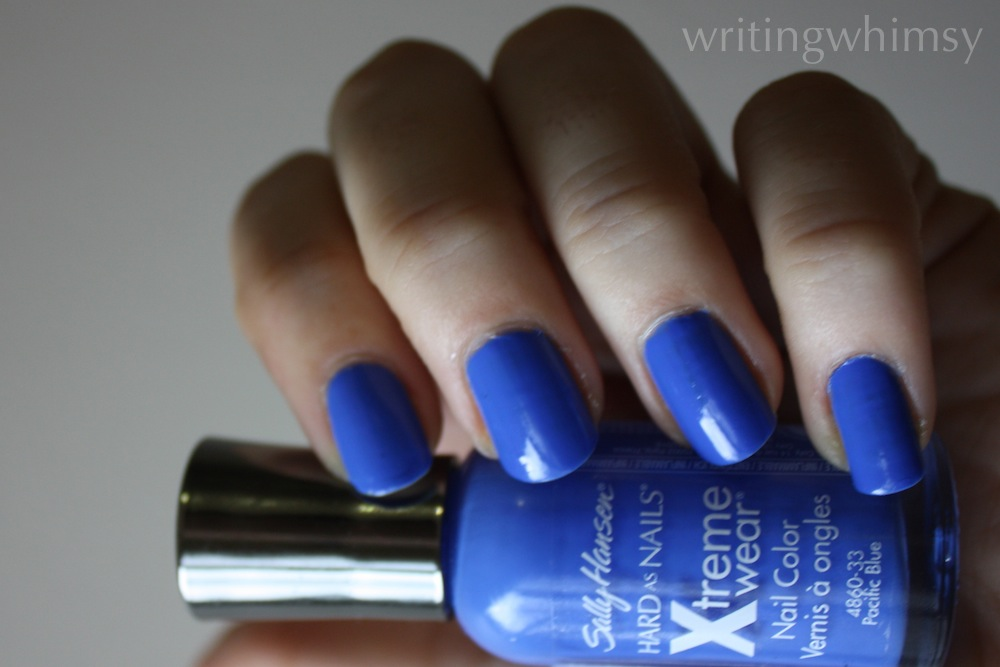 sally hansen pacific blue swatch 2