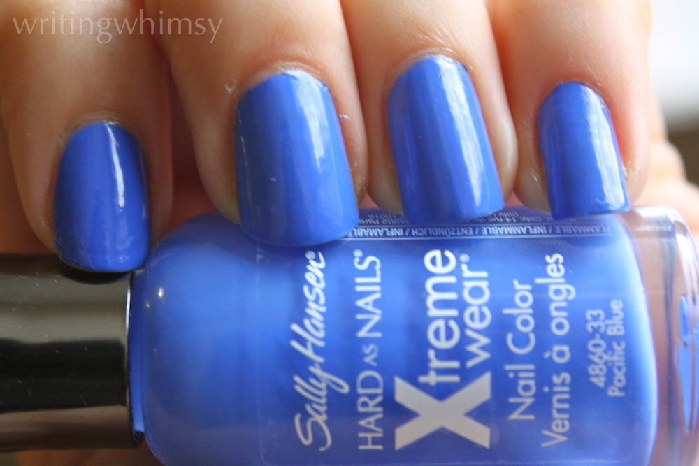 sally hansen pacific blue swatch 4