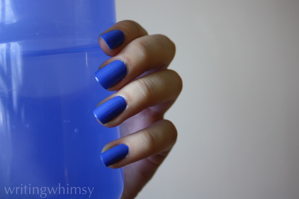 sally hansen pacific blue swatch 5