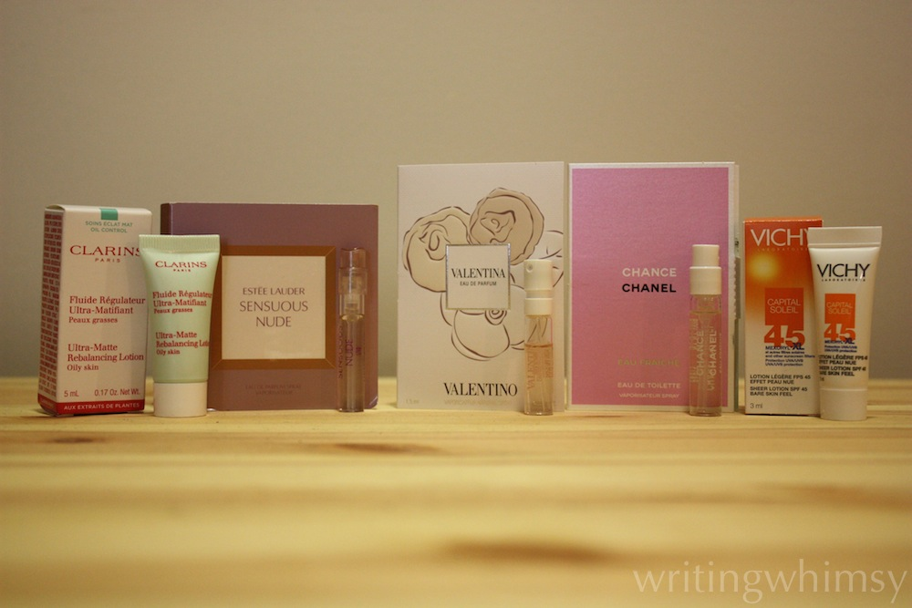 shoppers drugmart haul samples