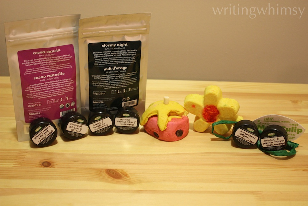 lush and davids tea haul
