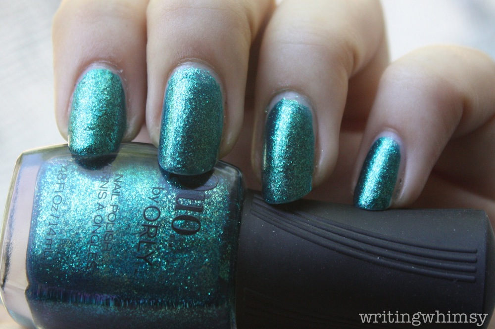 Quo by Orly Turquoise Moonlight 1