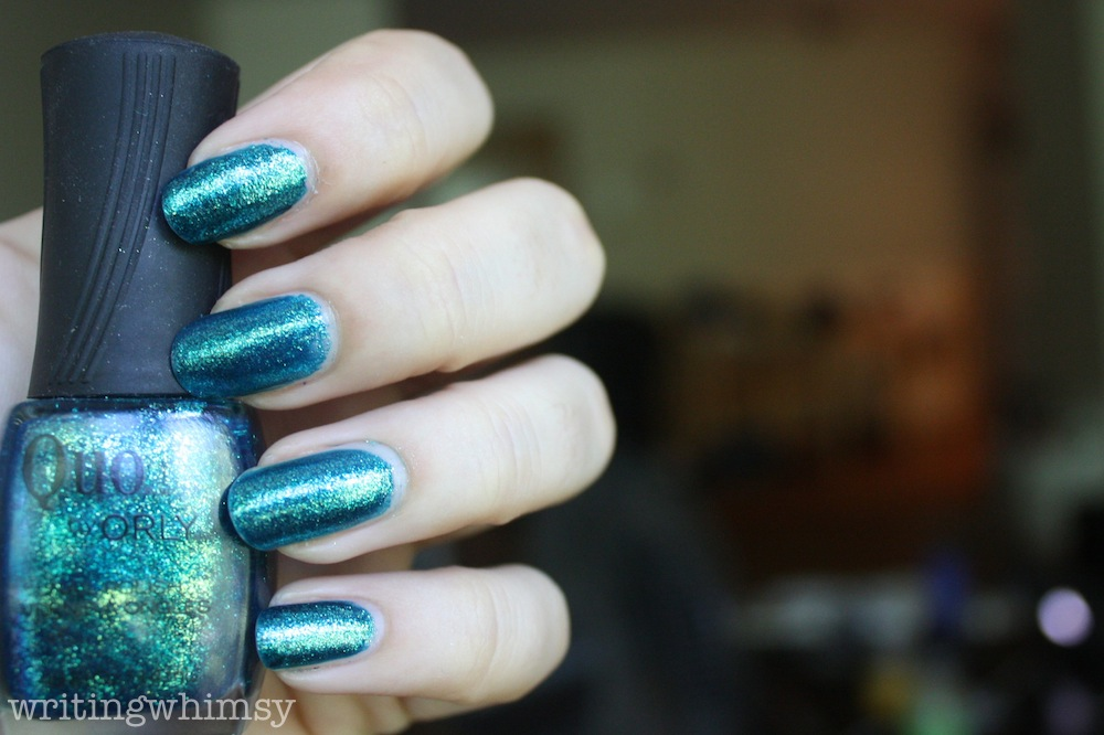 Quo by Orly Turquoise Moonlight 2