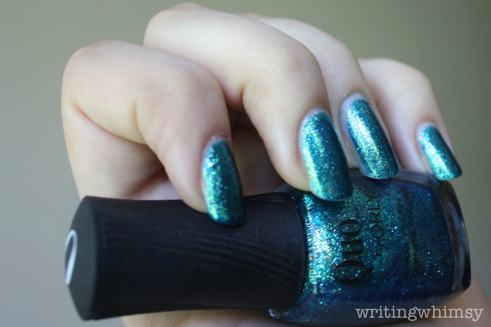 Quo by Orly Turquoise Moonlight 3