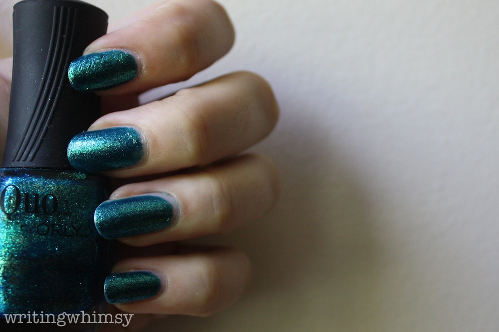 Quo by Orly Turquoise Moonlight 4