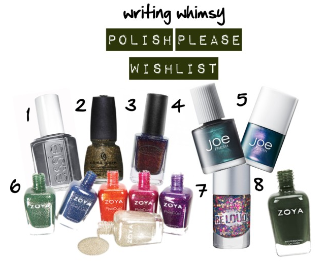 polish please wish list