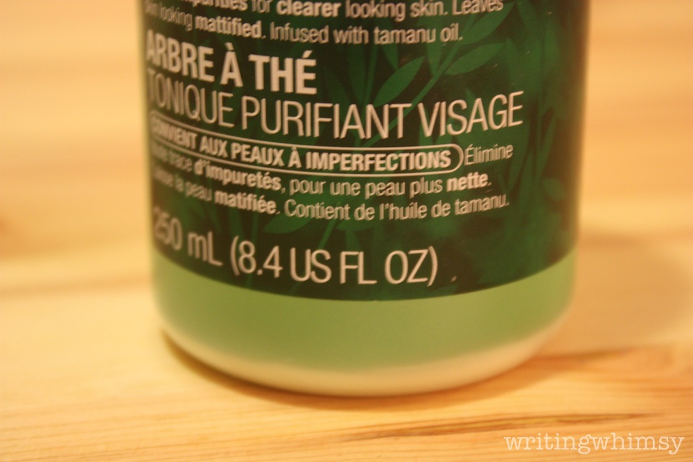 The Body Shop Tea Tree Toner 2