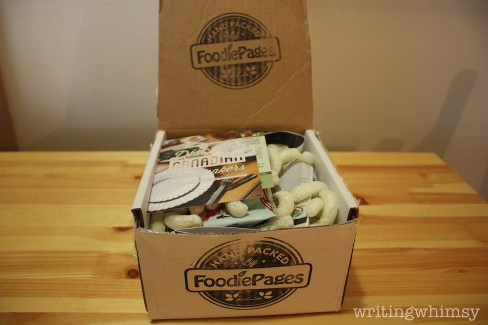 foodie pages tasting box july 2