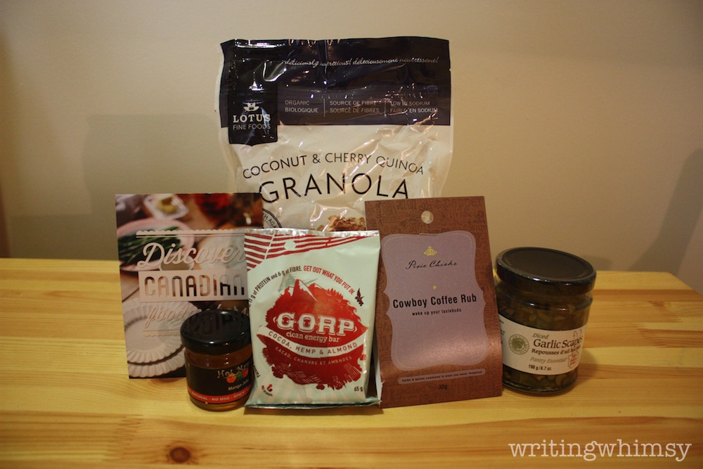 foodie pages tasting box july 3