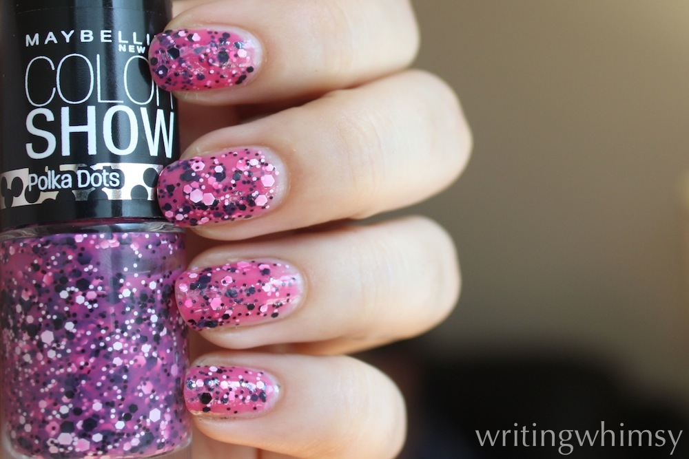 maybelline color show pretty in polka 3