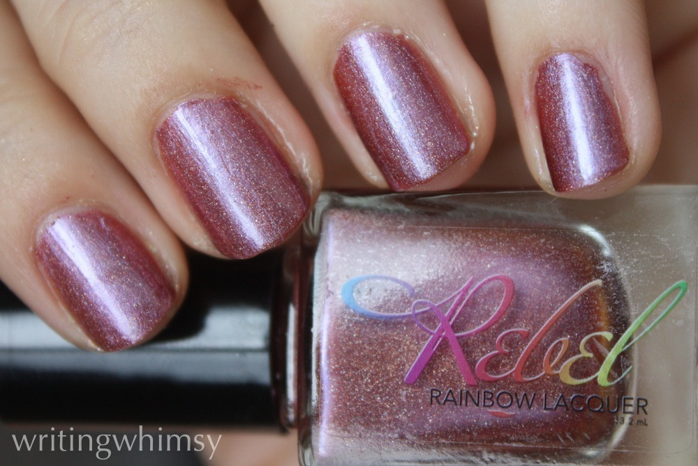 rebel rainbow Lacquer Everybody Have Fun Tonight 2