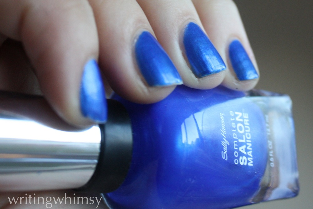 sally hansen blue my mind 2