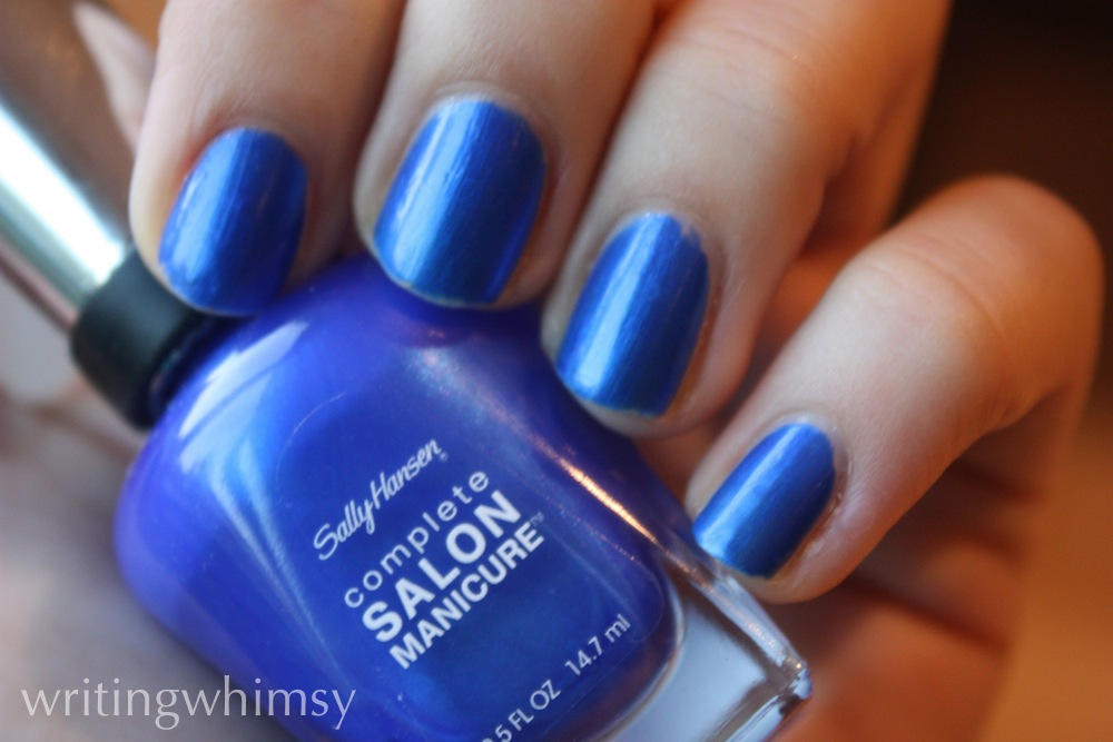 sally hansen blue my mind 3