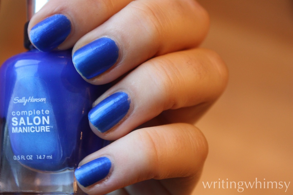 sally hansen blue my mind 5