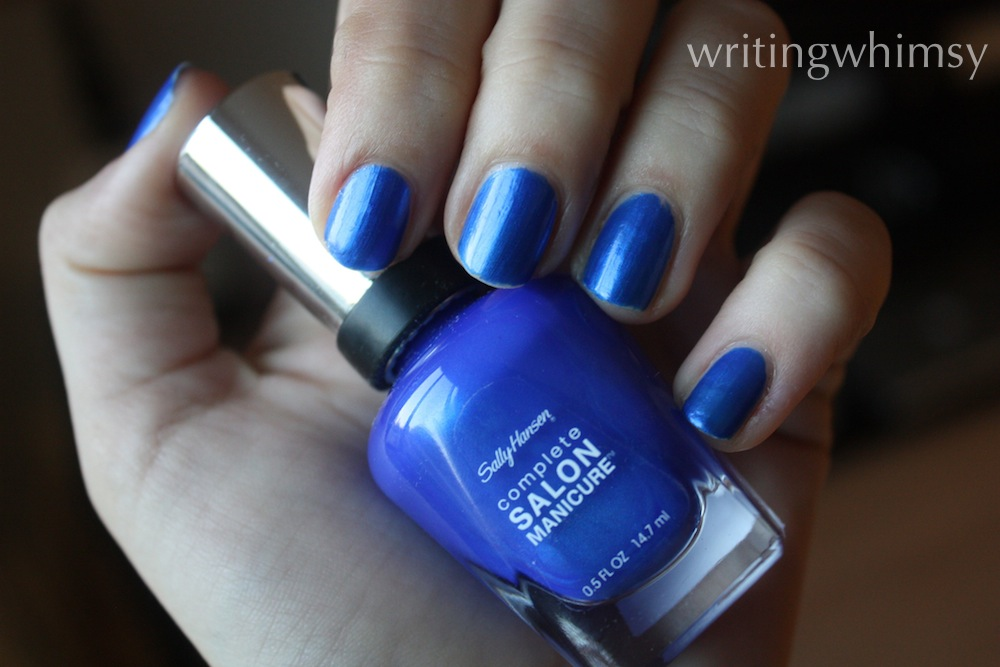 sally hansen blue my mind