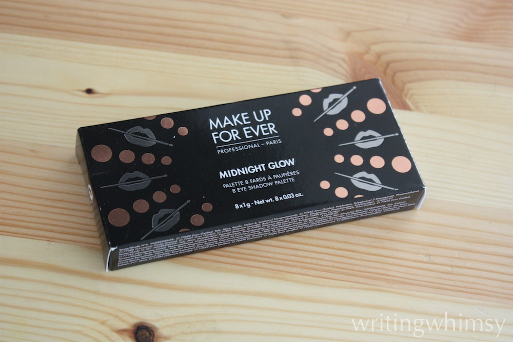 MAKE UP FOR EVER Midnight Glow Palette 1