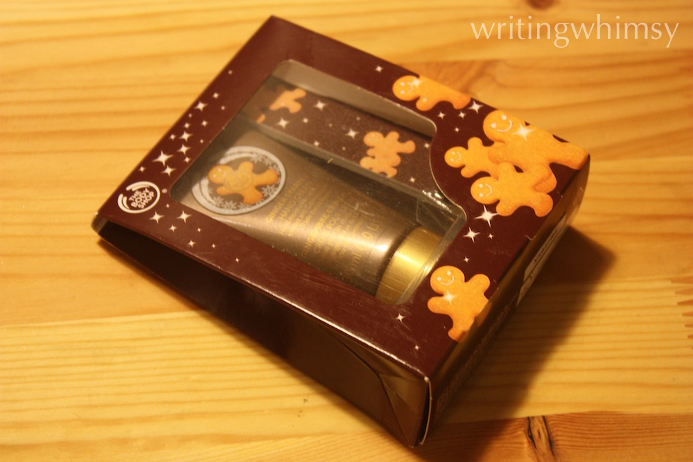 The Body Shop Ginger Sparkle Hand Cream 2