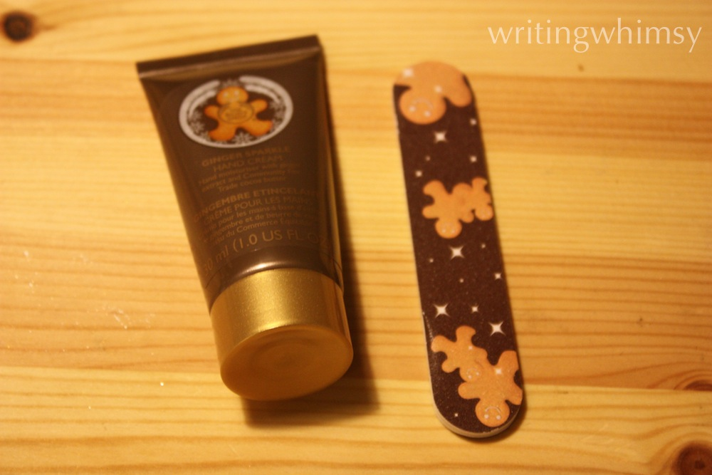 The Body Shop Ginger Sparkle Hand Cream 3
