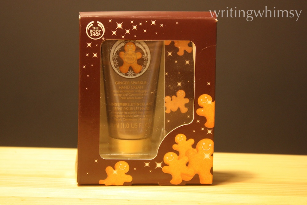 The Body Shop Ginger Sparkle Hand Cream