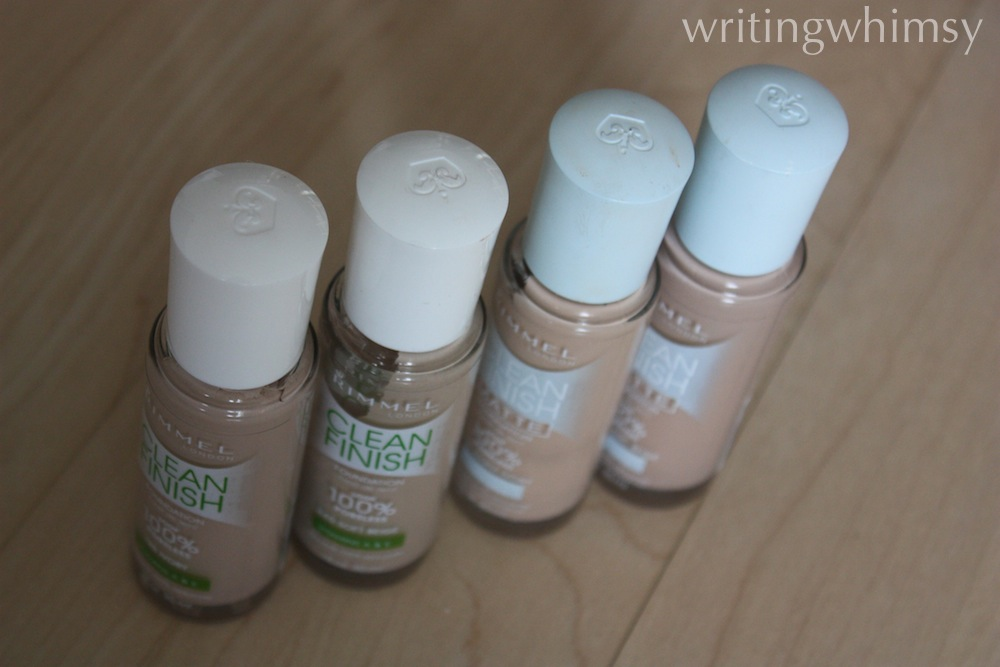 rimmel clean finish foundation 2