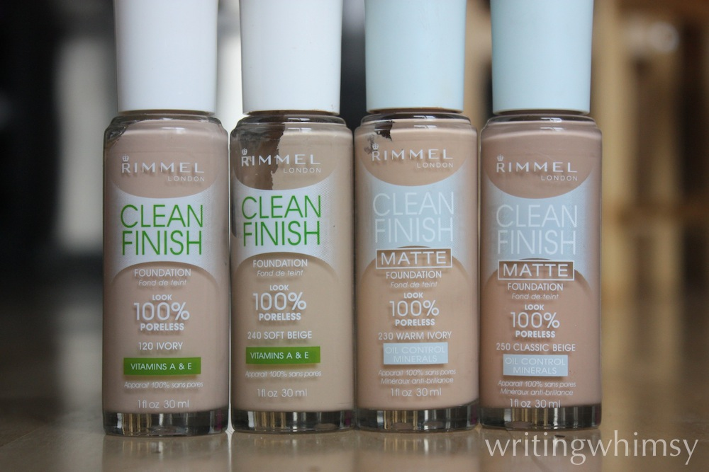 rimmel clean finish foundation 5