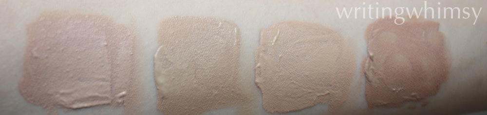 rimmel clean finish foundation swatch
