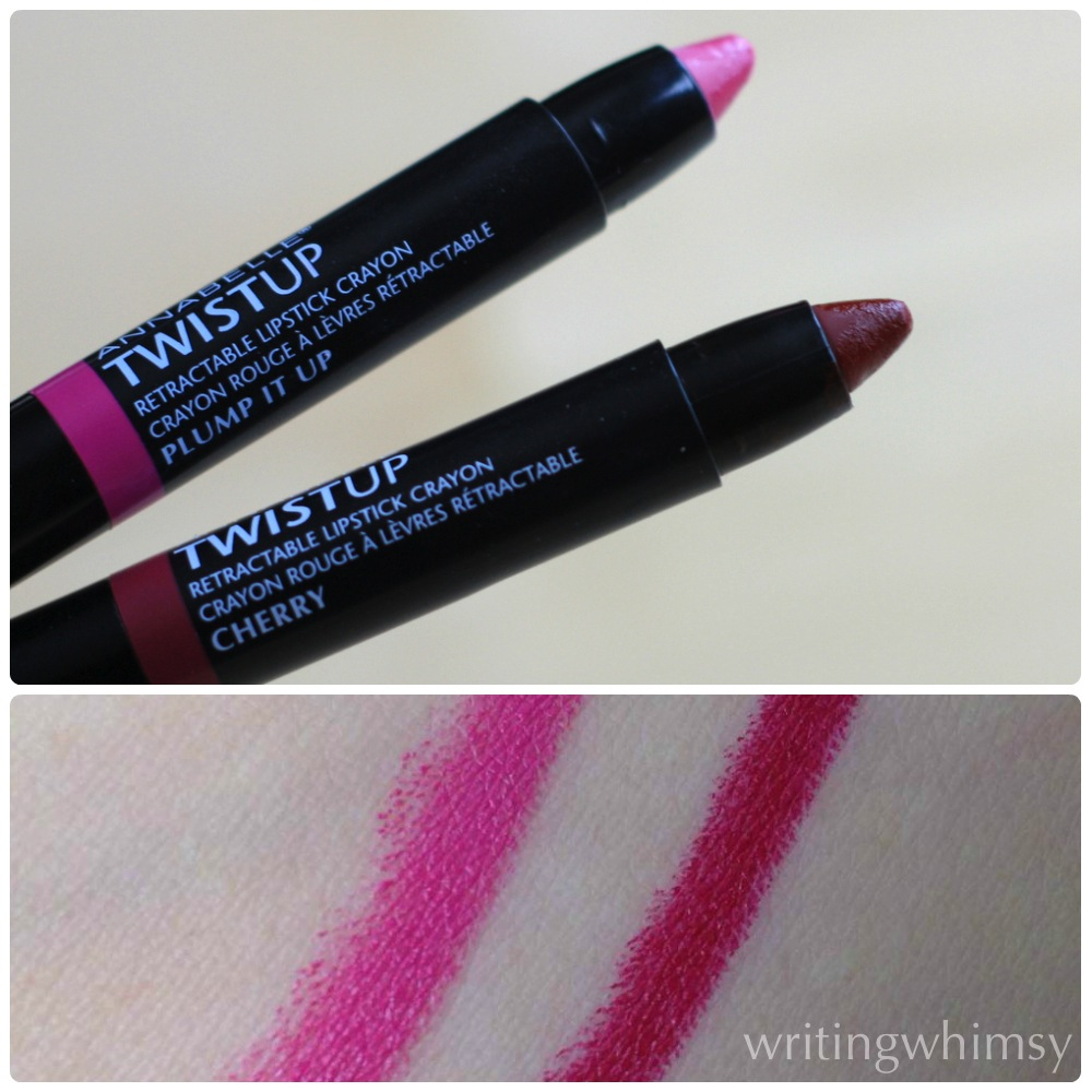 Annabelle TwistUp Retractable Lipstick Crayons 3