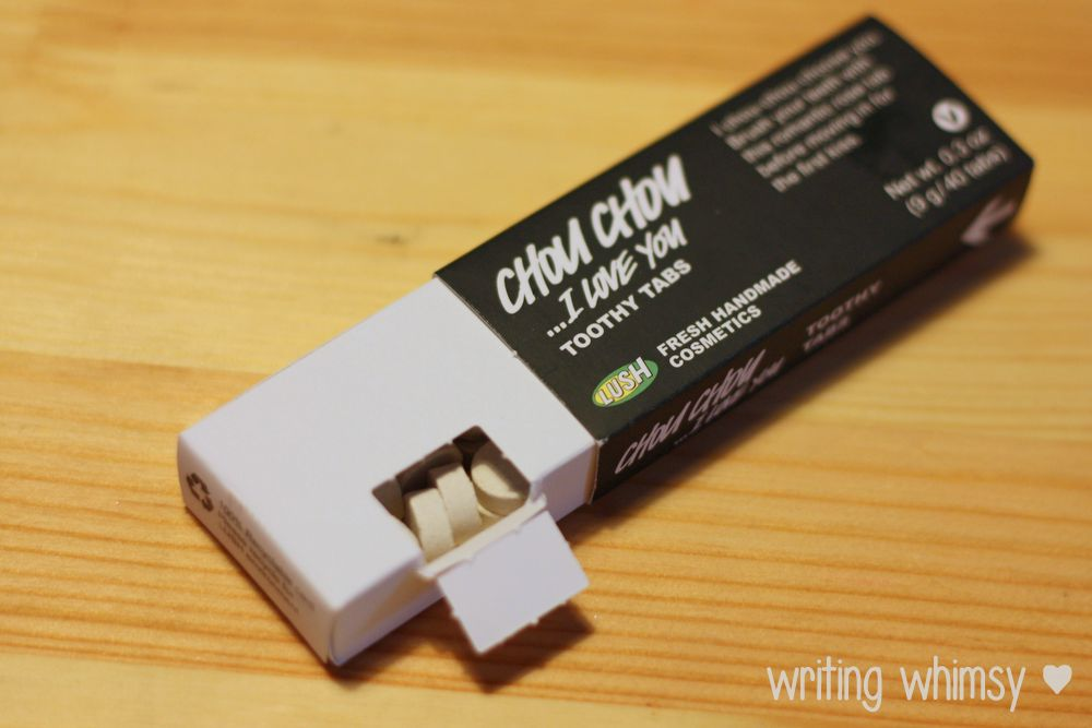 1-Lush Chou Chou I Love You Toothy Tabs