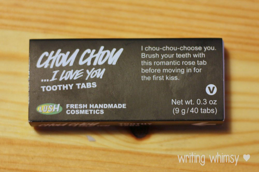 1-Lush Chou Chou I Love You Toothy Tabs 4