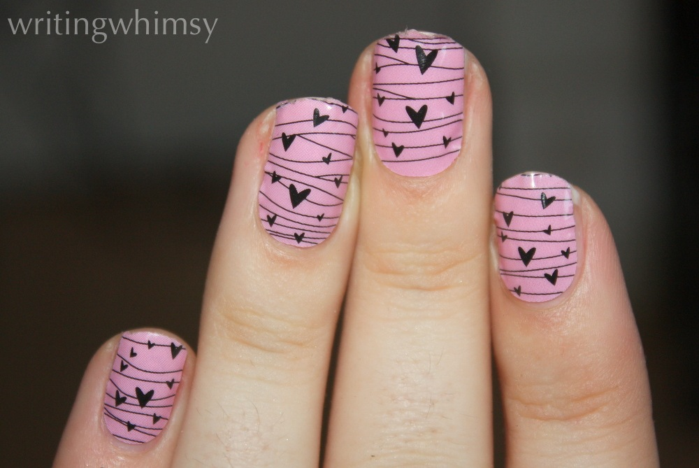 Jamberry Nail Wraps in Twitterpated – WRITING WHIMSY