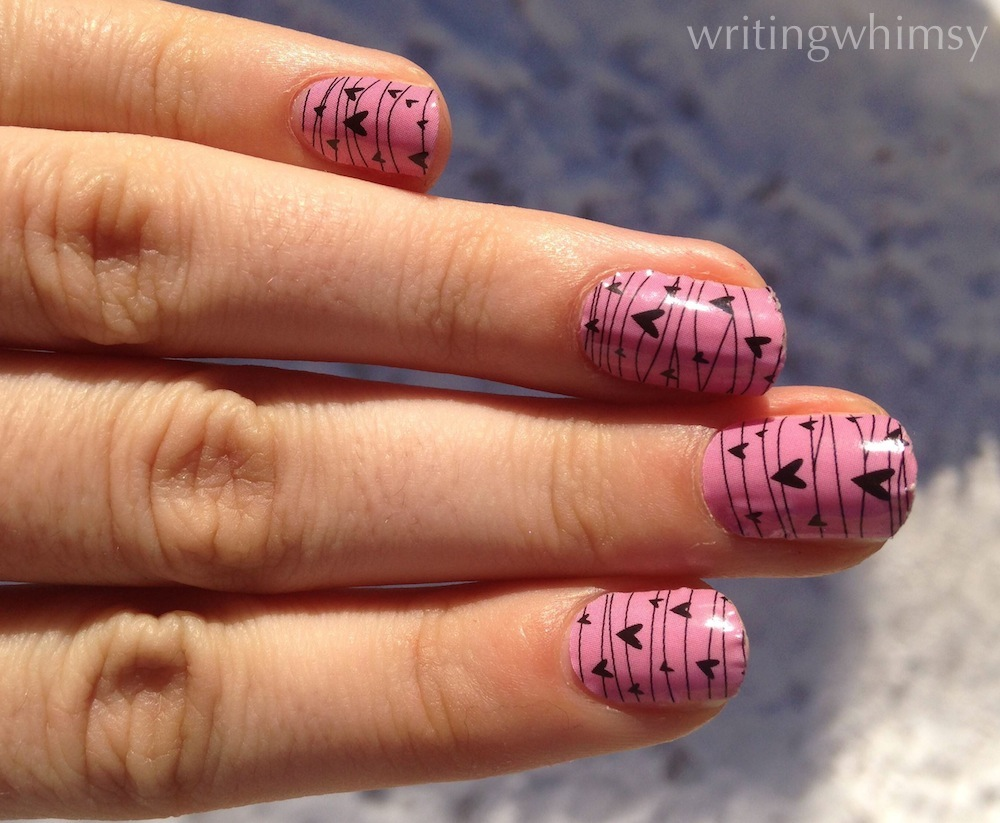 Jamberry Nail Wraps in Twitterpated 4