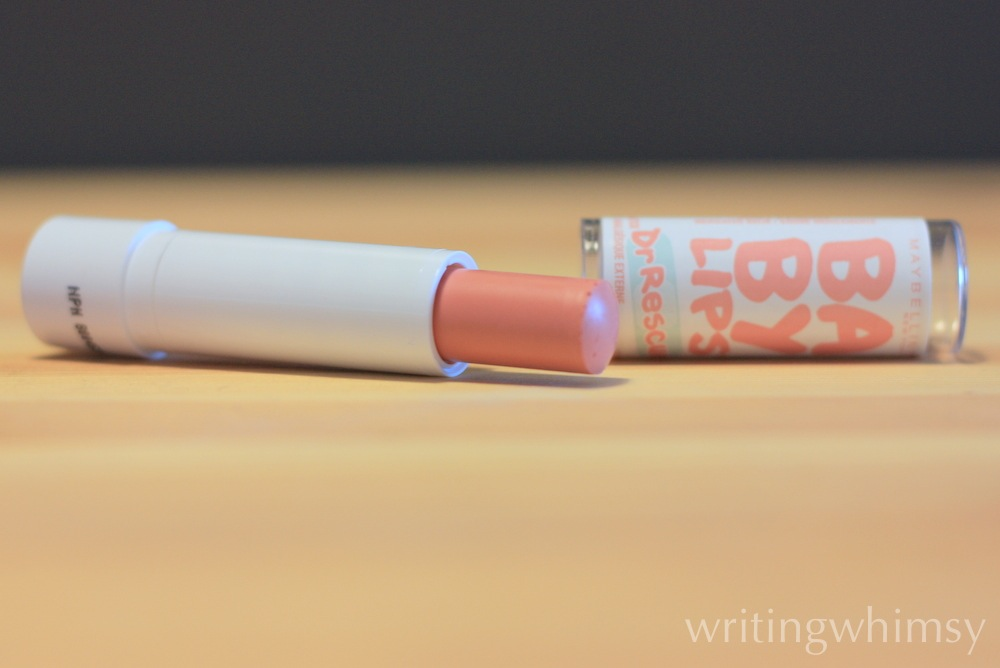 Maybelline Baby Lips Dr. Rescue Just Peachy 5