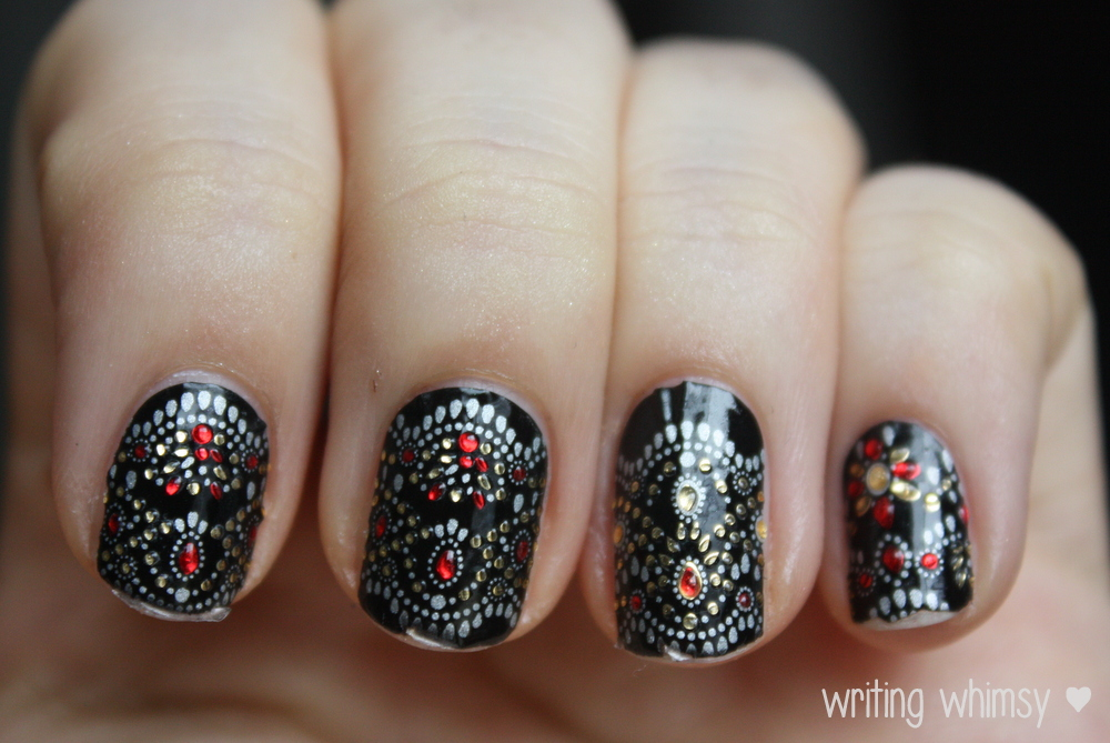 Revlon by Marchesa in Jeweled Noir 3
