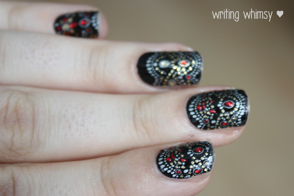 Revlon by Marchesa in Jeweled Noir