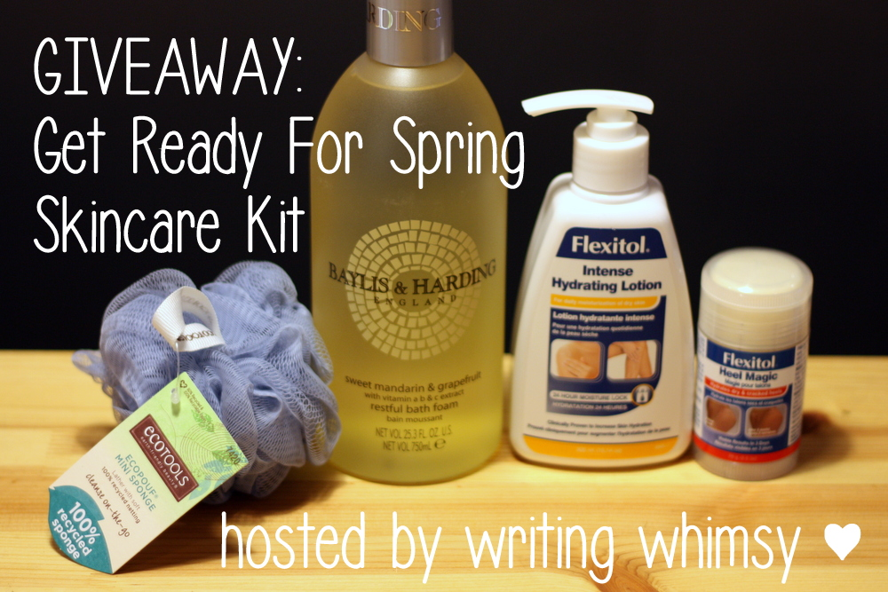 Get Ready for Spring Skincare Kit Giveaway